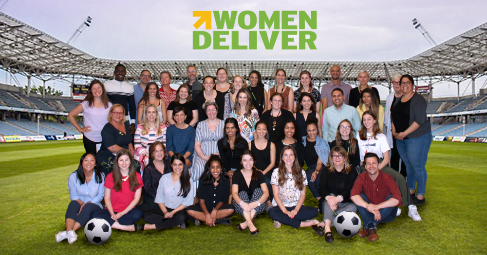 WOMEN DELIVER - IF YOU WANT A BETTER WORLD, YOU MUST INVEST IN WOMEN AND GIRLS!