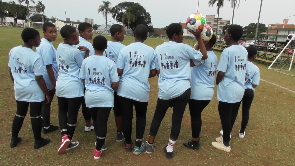 WHO CAN PLAY? - A Global Goals World Cup team consists of any 5-8 women aged 13 and up. You can represent an organization, a company, a country or just yourselves!To enter, you must be available to be in Johannesburg on October 13 2018. Unless otherwise indicated by the organizers, teams must cover their own travel and accommodation.To play in our tournament soccer skills are optional, but passion for sustainable development is mandatory! Crowd engagement, taking action for the SDGs as well as your original team style will all be counted as you score points for change! Goals World Cup is the first ever activist world cup for amateur women.
