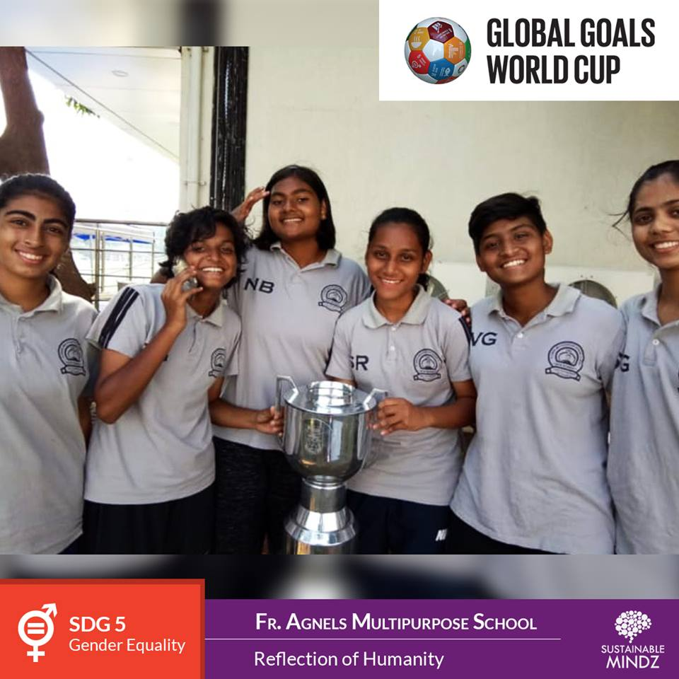 The hosts for the GGWCup Mumbai are not just a school, they are thoroughbred football lover and they will prove it, when they stop on the field come February. A very loud round of applause for our hosts  Fr. Agnel Multipurpose School and Junior College !