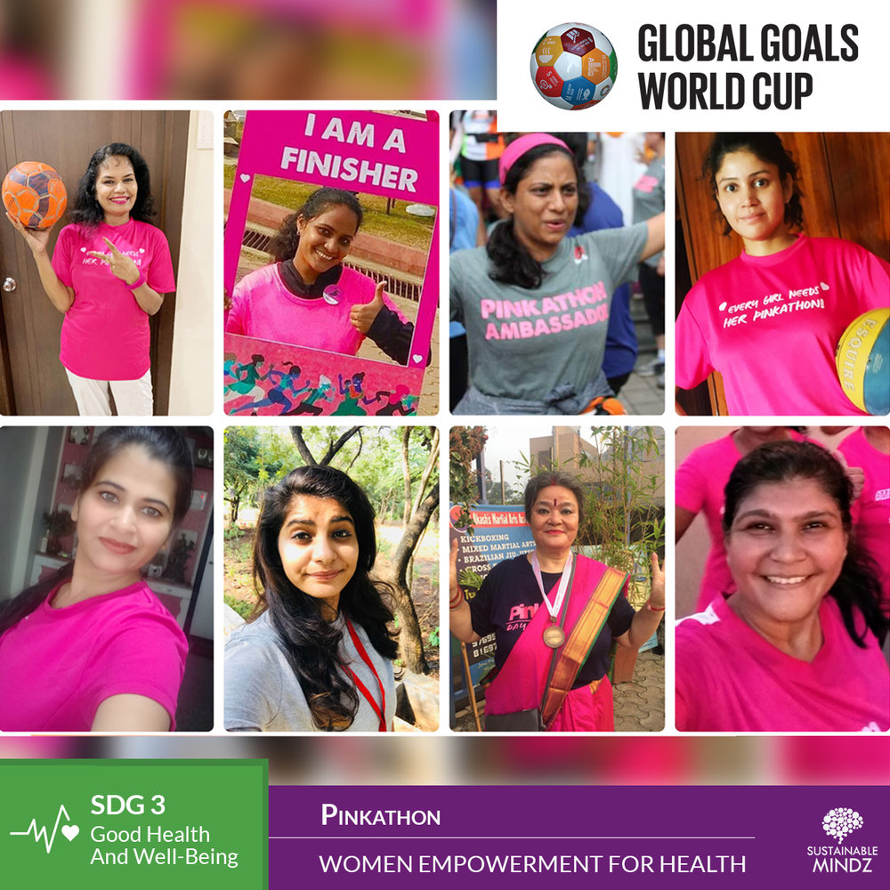 When running is in their DNA, do you think they'll be afraid to tackle any problem that lies ahead of them? Welcome to the fold,  All India Pinkathon Training Girls , the latest entrant who will be testing their skill against the best teams at the upcoming Global Goals World Cup.