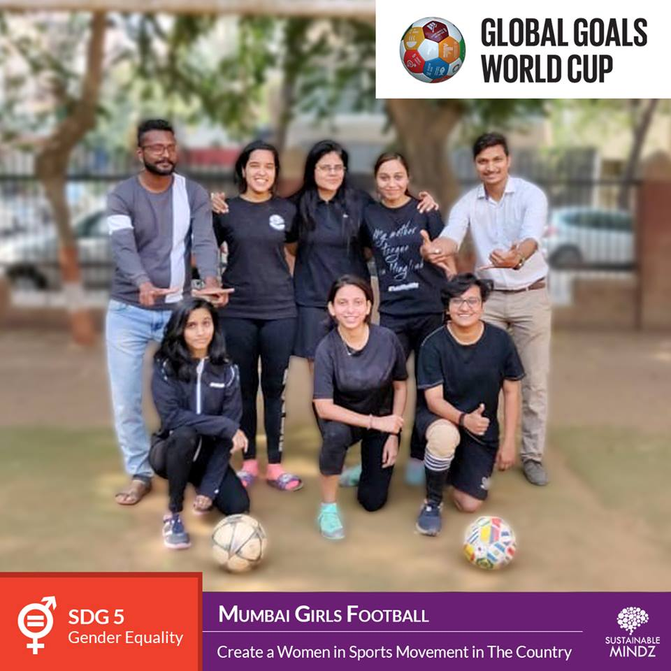 The  Mumbai Girls Football  team was set up with only one crystal clear aim - through women in sports, start a movement in the country. Since 2014, they have successfully started one football club and have tied up with 20 other clubs as well. Their initiatives have directly impacted almost 500 girls in the country and we are sure this team will be looking to have a positive impact on the upcoming GGWCup as well!