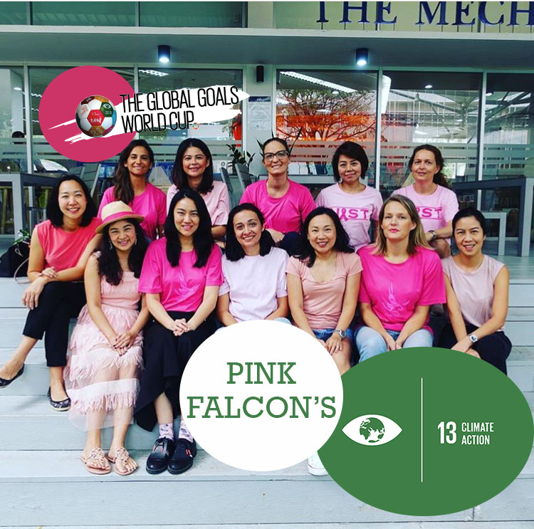 Team Pink Falcons GGWCup Bangkok 2019