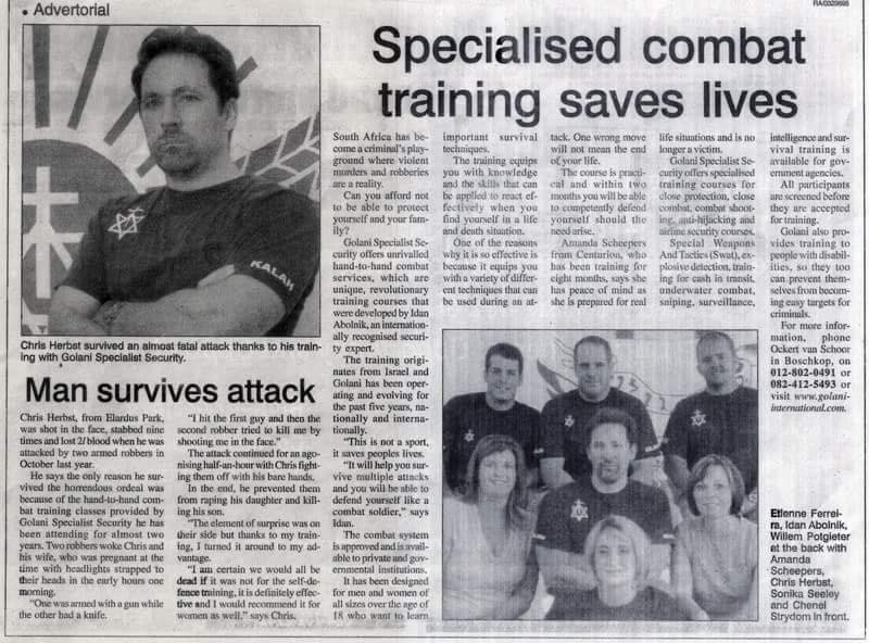 News RSA - Instructor survives 2 attackers
