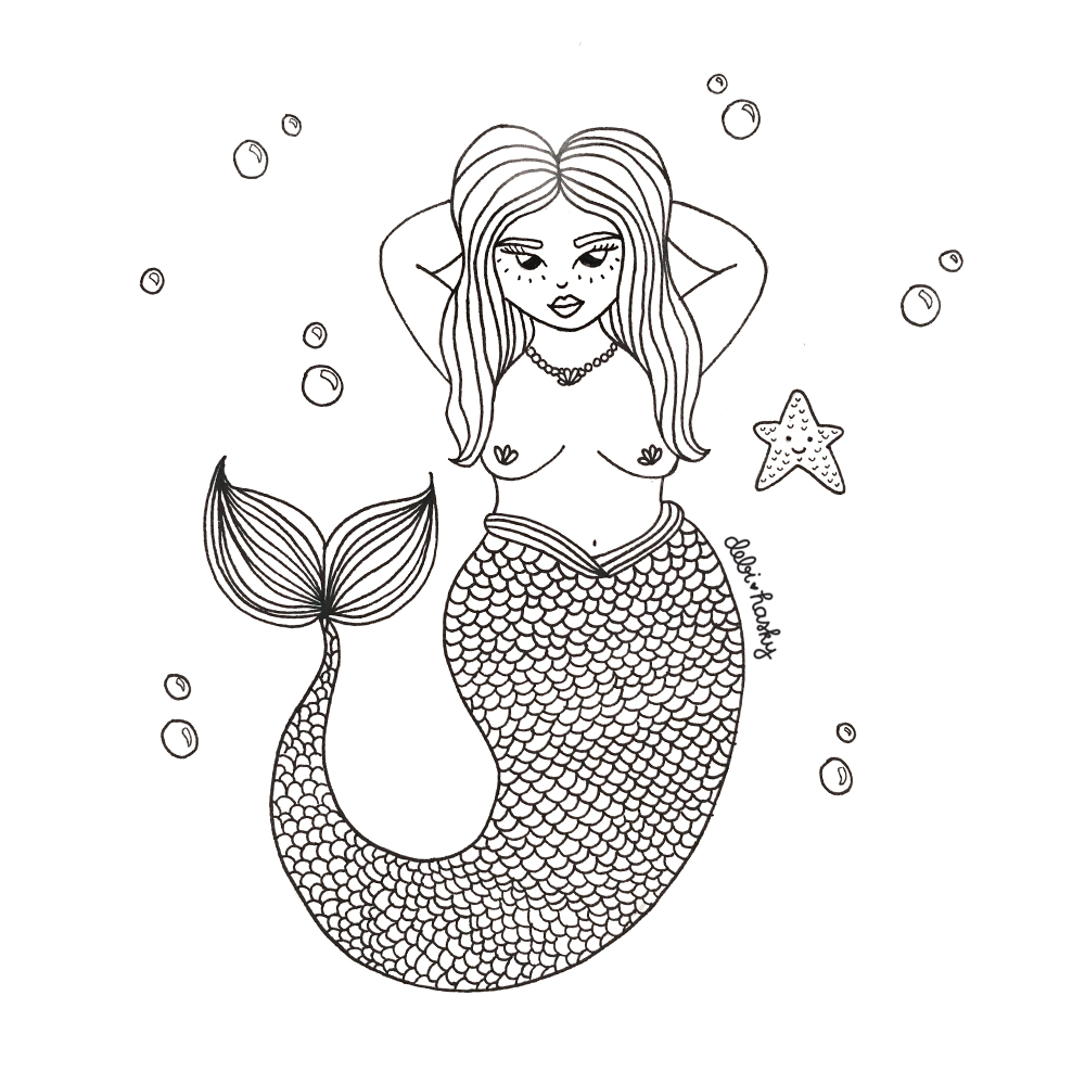 Day 5: Mermaid