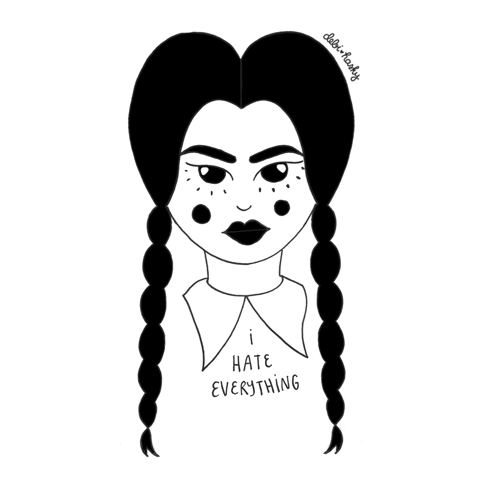 Day 13: Wednesday Addams