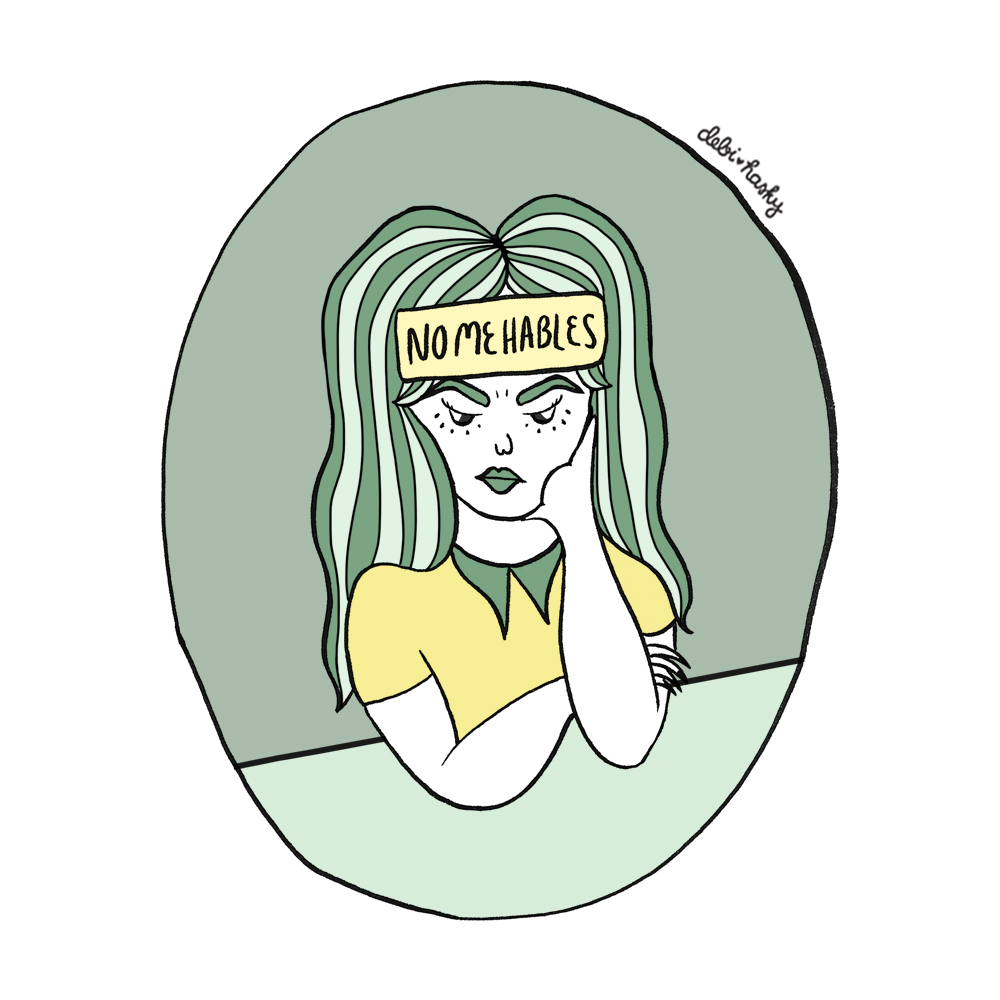 No Me Hables Illustration, Personal