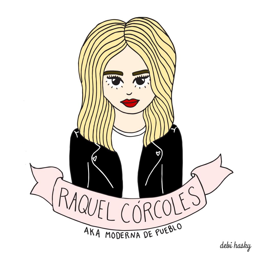 Raquel Córcoles AKA Moderna de Pueblo