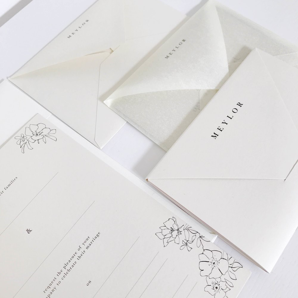 White on White, Stationery
