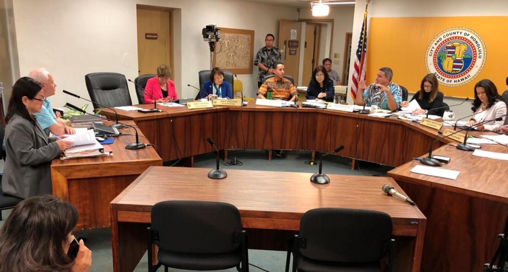 "Honolulu City Council Planning Committee advanced the ""monster homes"" bill. (WAYNE YOSHIOKA)"