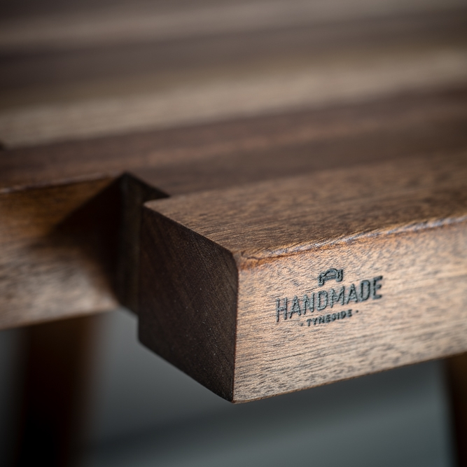 PROVENANCE - Everything we make is handmade in our workshop in the North East of England. Each piece of wood is sourced in and around the region, we can tell you where the wood came from, what it was used for in its previous life and its age.