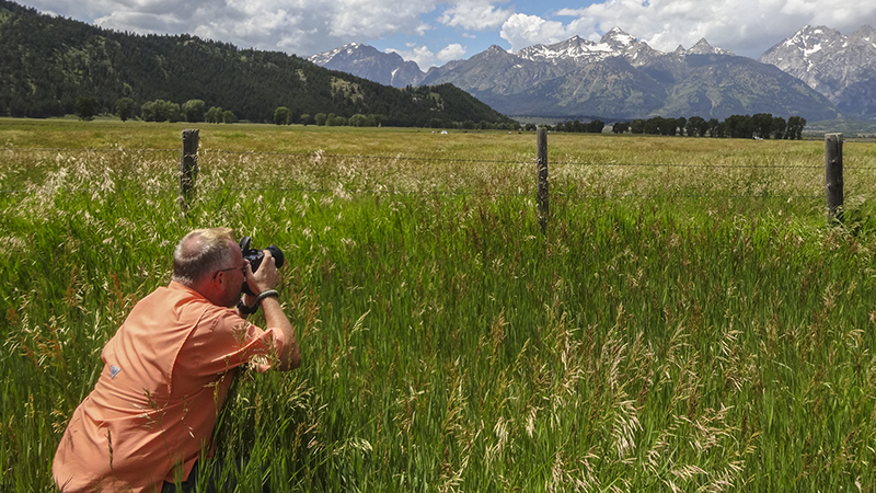 Photographing the Grand Tetons, Jackson Hole, Wyoming