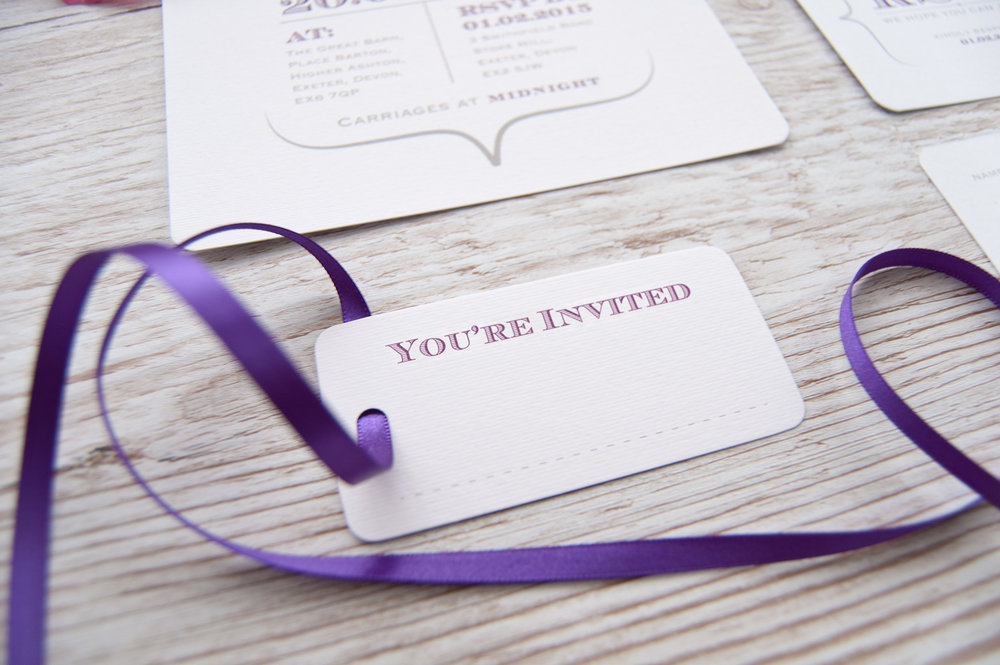 'You're Invited'tags
