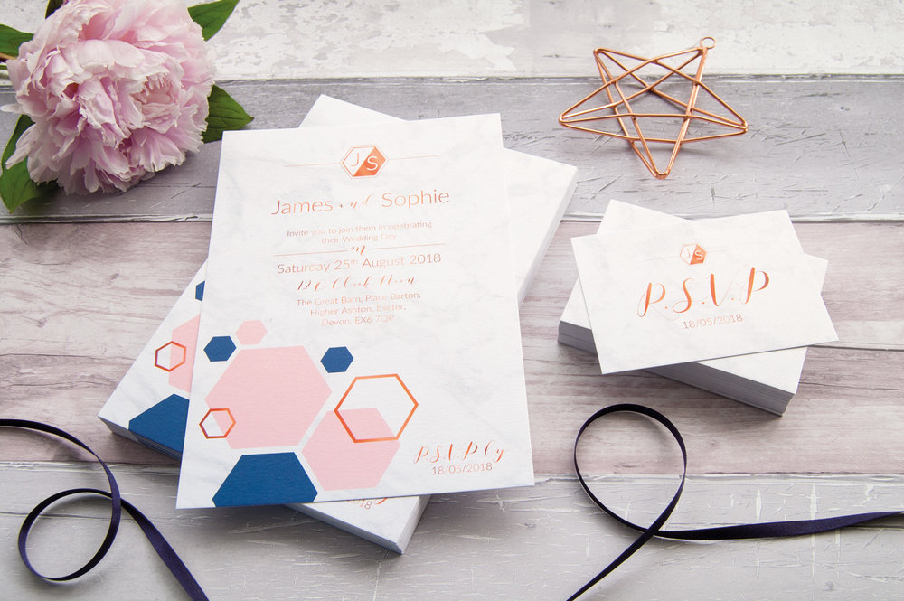 Borrowed Blue Design Beautiful Wedding Stationery