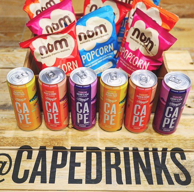 COMPETITION TIME! Nom and Cape have decided to team up to conquer your snack time. To #win a case of 12 Cape cans and 8 packets of delicious Nom popcorn all you have to do is make sure you follow both @capedrinks and @nom_foods_ and tag a friend in the comment section below. We will announce the winner next Sunday - Good luck!
