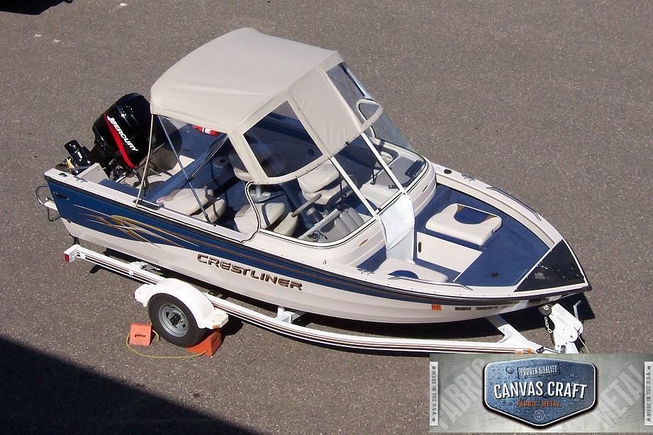Aluminum Boat Enclosures : Tops enclosures — canvas craft