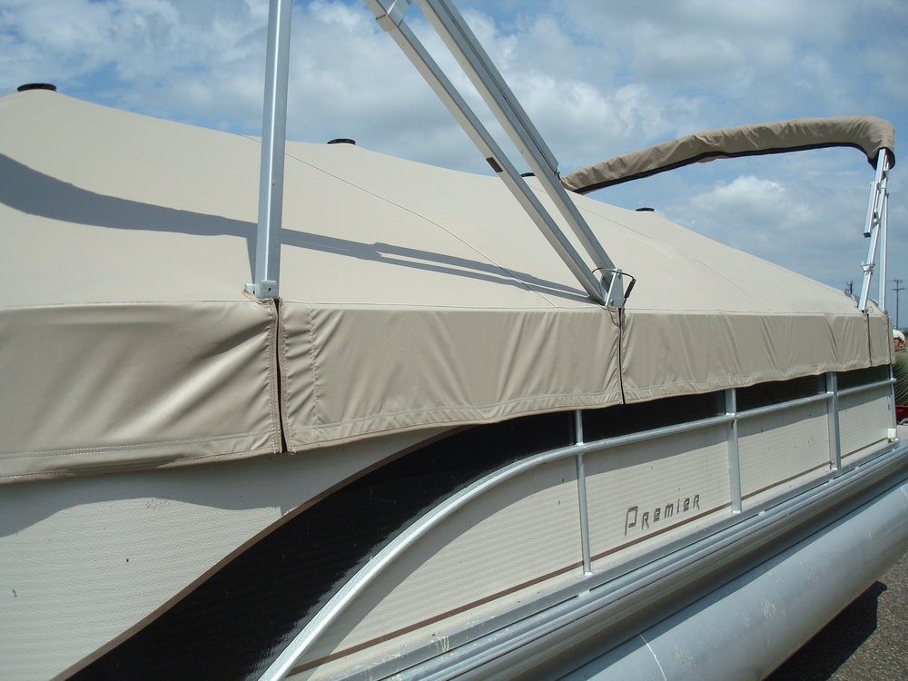 Custom Pontoon Cover Fabrication.JPG