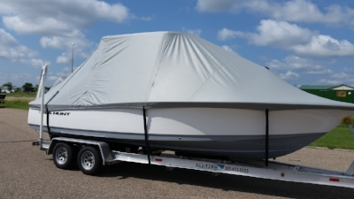 Tie Down Boat Cover