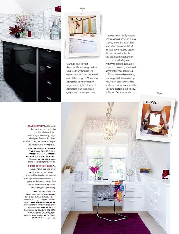 Tamara robbins griffith style at home