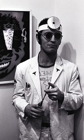 Karl Wirsum, 1967 (Photo by Bill Arsenault)