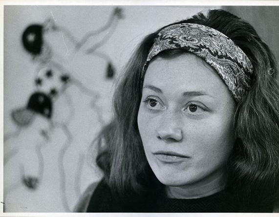 Gladys Nilsson, 1967 (Photo by Charles Krejcsi)