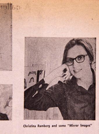 Christina Ramberg, 1969 (Chicago Daily News)
