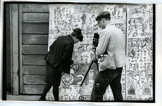 Suellen Rocca & Jim Falconer, c.1967 (Photo by Charles Krejcsi)