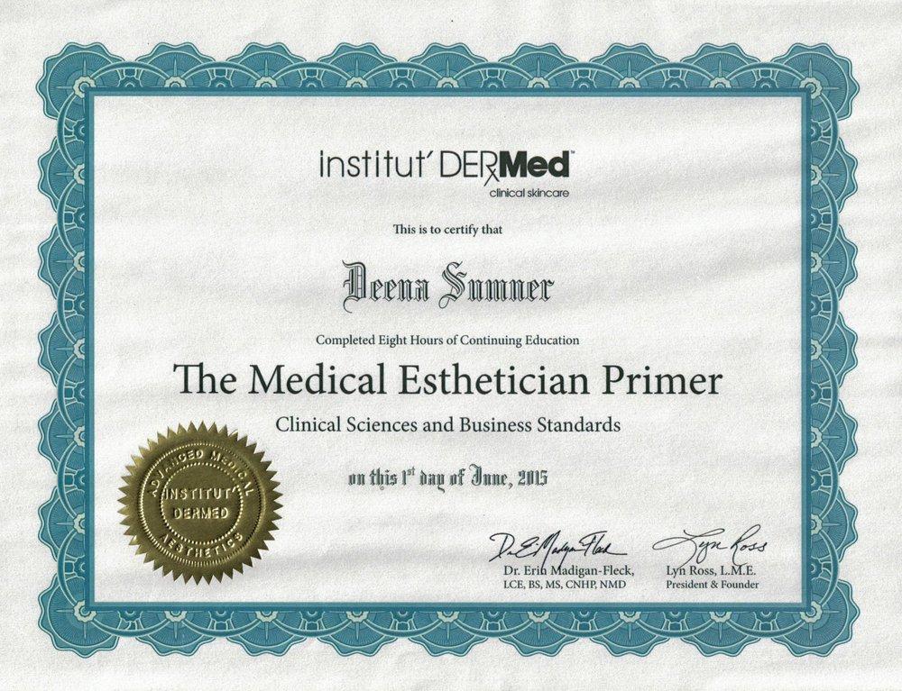 Medical Esthetician