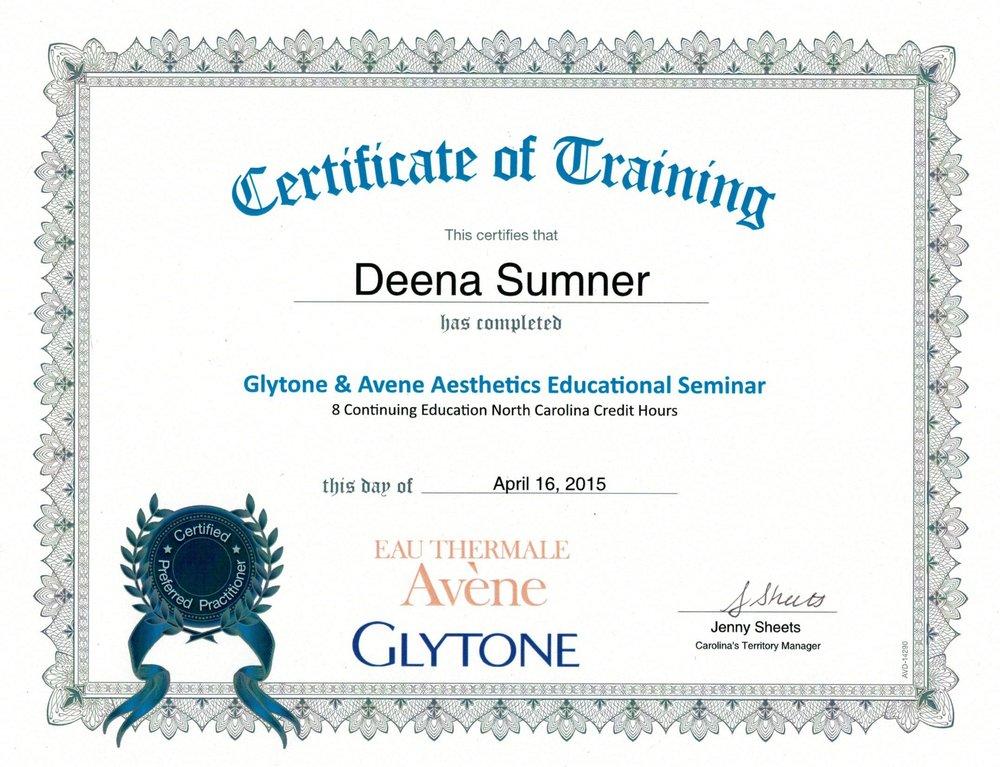 Glytone & Avene Aesthetics