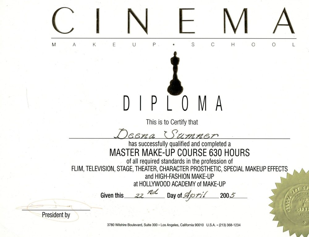 Cinema Master Makeup