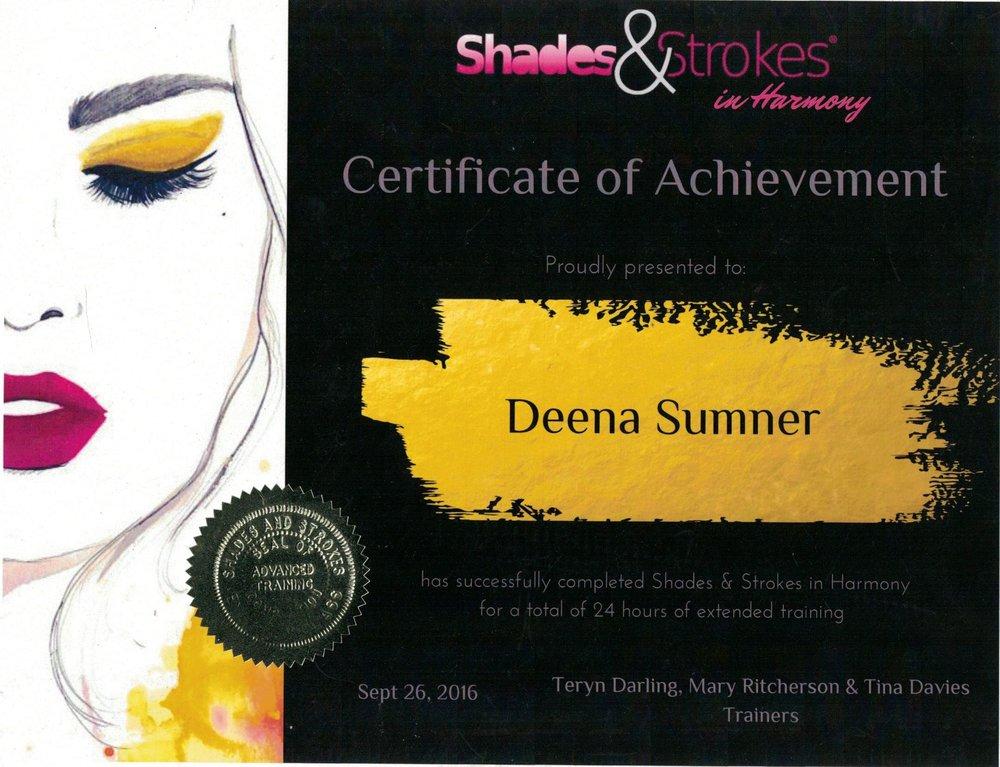 Shades and Strokes in Harmony