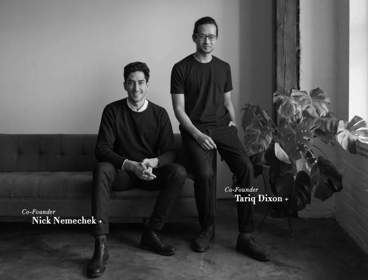 TRNK Cofounders Tariq and Nick