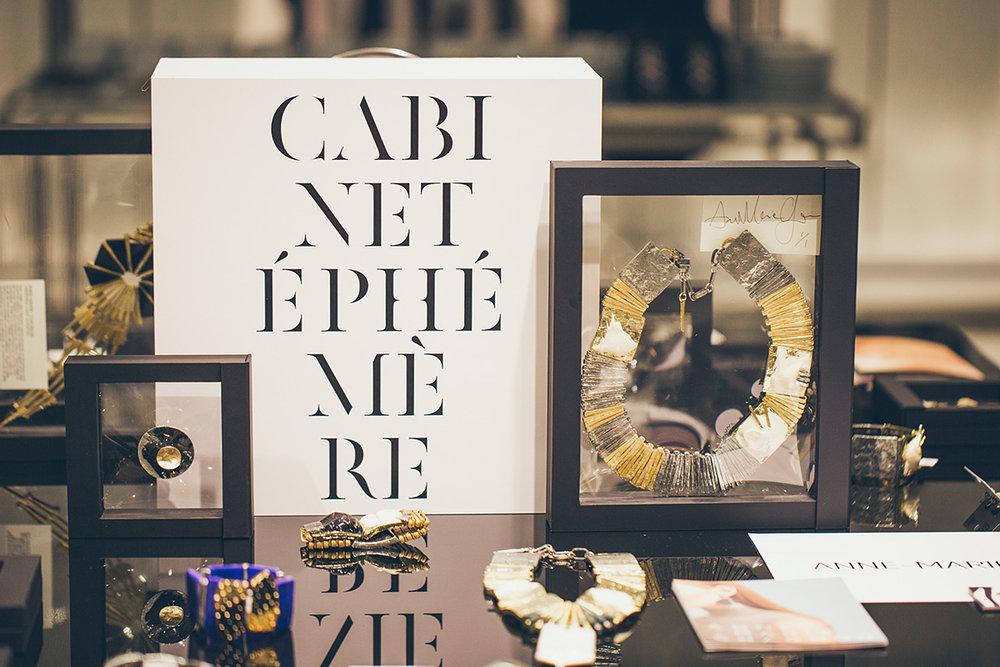 Cabinet Éphémère - Ogilvy Holt Renfrew