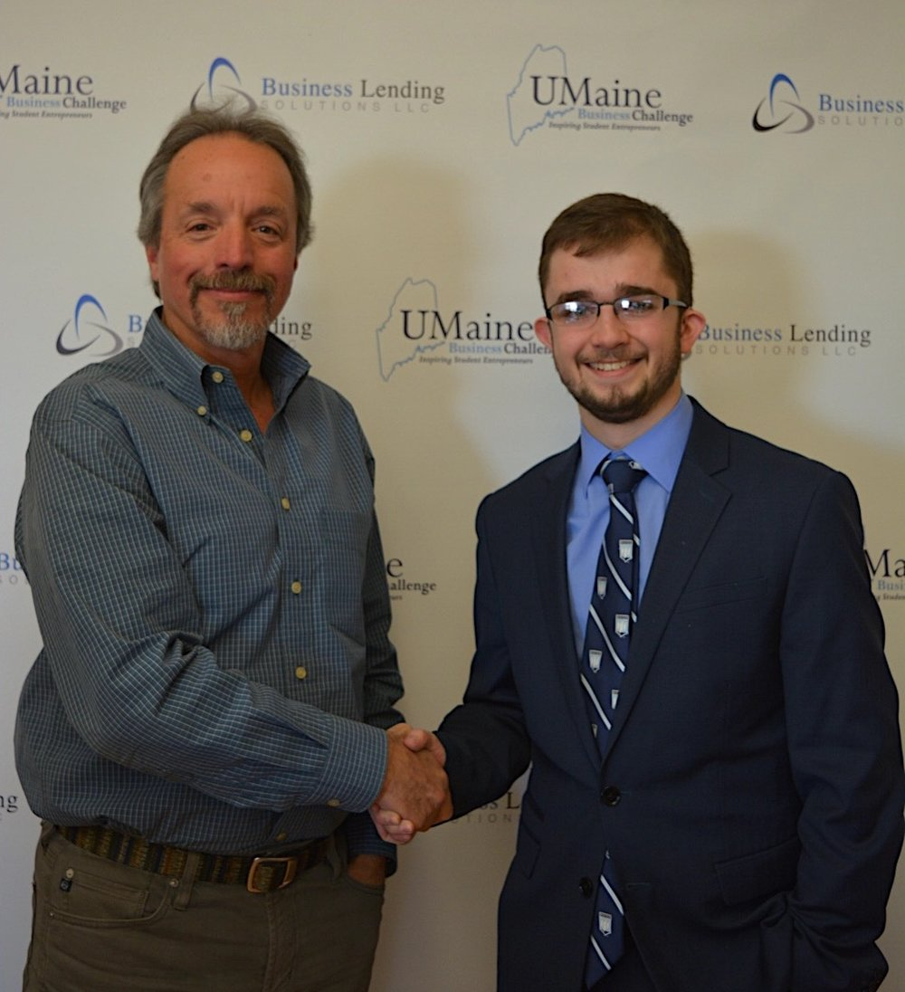 Innovation Prize: IoTato - Nicholas Lajoie, a senior at the University of Maine, took home the $5000 Innovation Prize sponsored by UMaine alumni Bruce Fournier, and the Fournier Family Foundation for his company IoTato.