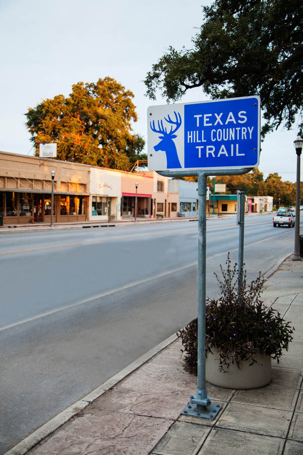 Hill Country Trail Sign