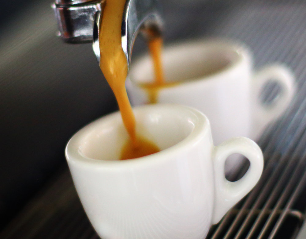 Fresh Brewed Espresso, Cappuccino & Coffee