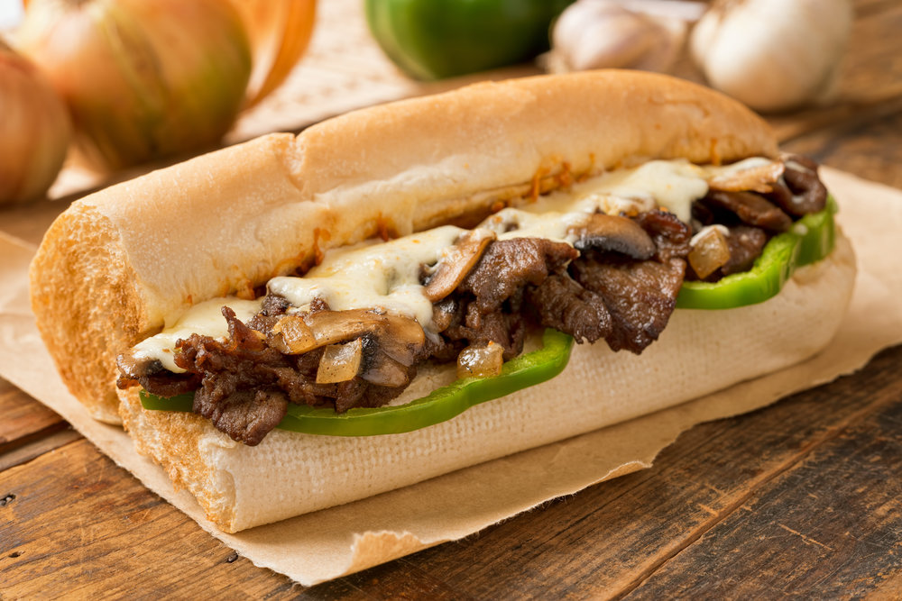 Mr. Bruno's bring Philly to you! PHILLY-STYLE CHEESE STEAK