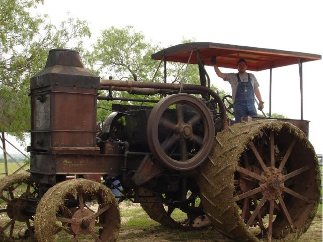 Almost everything on this tractor is original from the factory, and still operates 96 years later!
