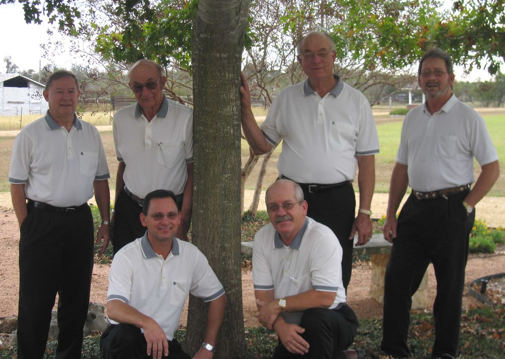 L-R: Front Row – Thomas Strmiska, David Trojacek; Standing - Albert Heselmeyer, Anton Vrazel, Alfred Vrazel, Patrick Strmiska.