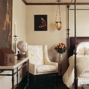 Modern Medieval Guest Room