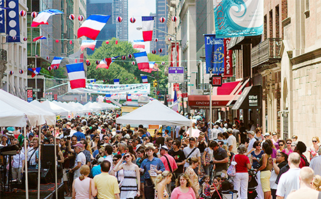 Bastille Day - Francophiles have their choice of fetes to celebrate Bastille Day. NYC's annual events include street fairs, outdoor parties, dance events and performances (the cancan!), and more great things to do outside.When: Officially, Bastille Day is on Thursday, July 14, 2017. The holiday is always held on July 14 to celebrate French National Day (July 14, 1789). When the French holiday does not fall on a Sunday, NYC celebrations are held the Sunday before, so this year you can celebrate Bastille Day in NYC on Sunday, July 9, 2017, from 12pm to 6pm