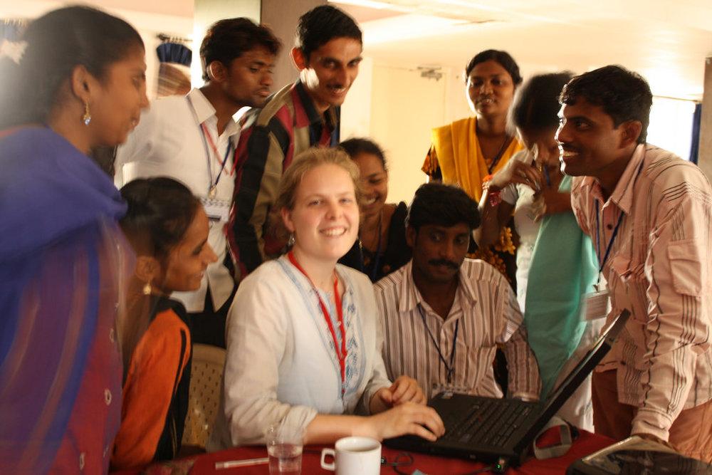 Video Volunteers Training (India, 2009)