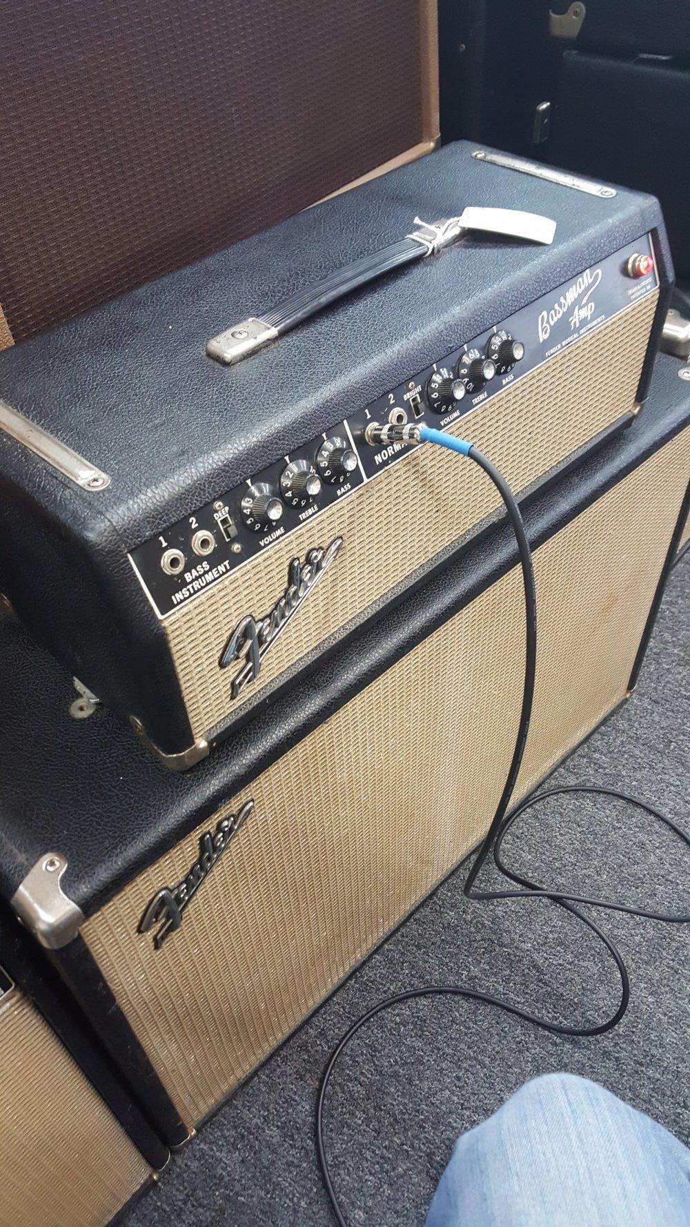 1967 Blackface Fender Bassman