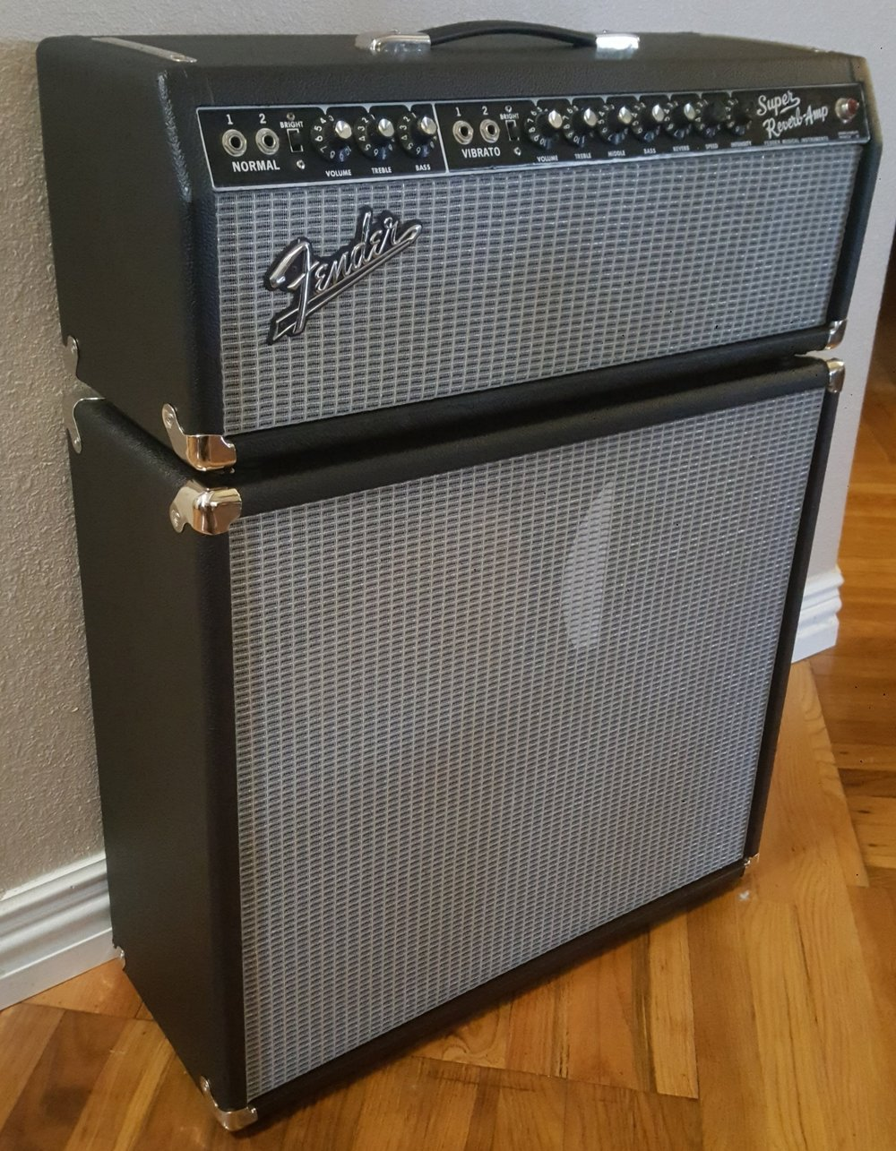 1965 Blackface Fender Super Reverb