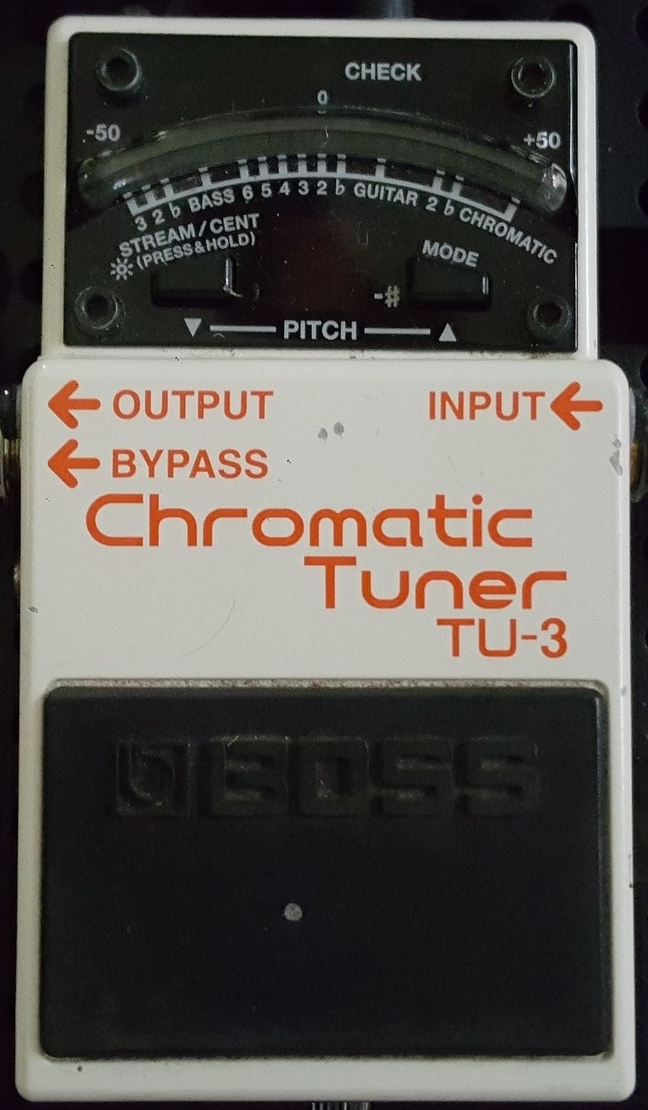 TU-3 Tuner Pedal by Boss