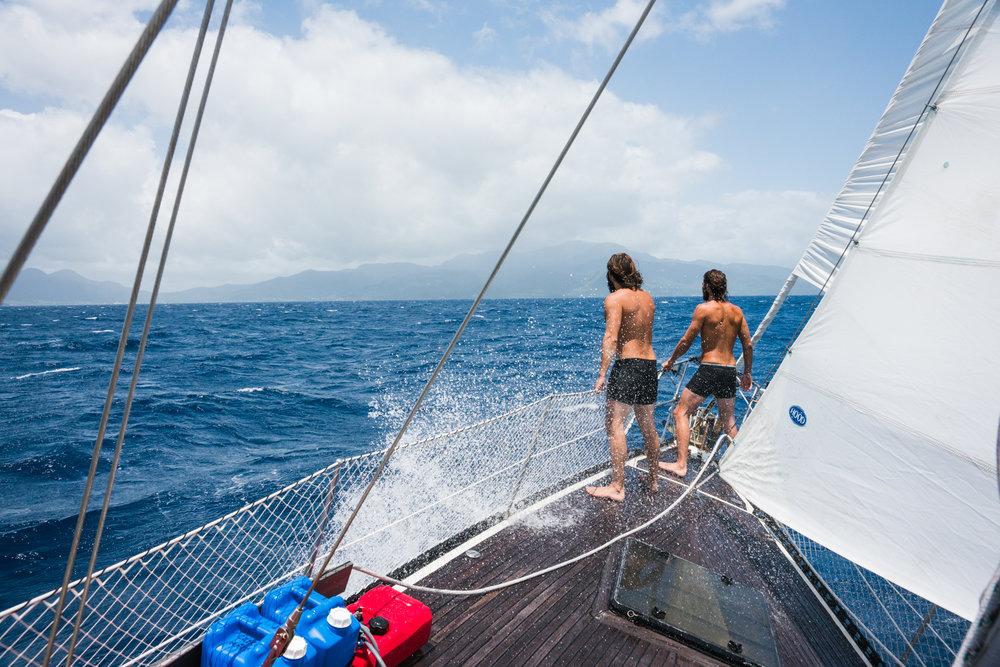 Naked boys sailing #15