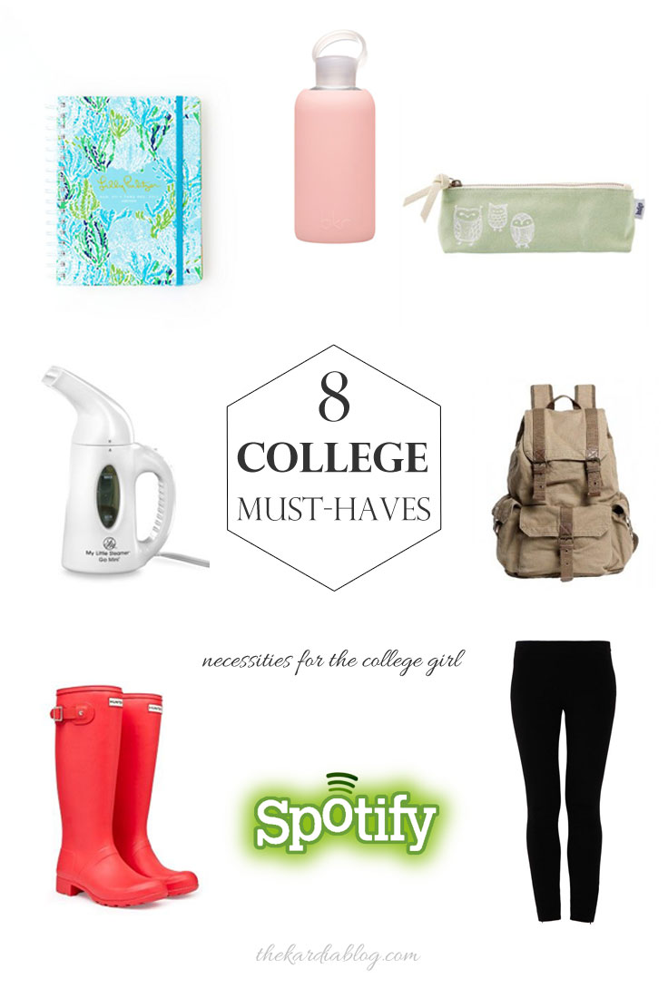 8 College Must Haves | The Kardia Blog