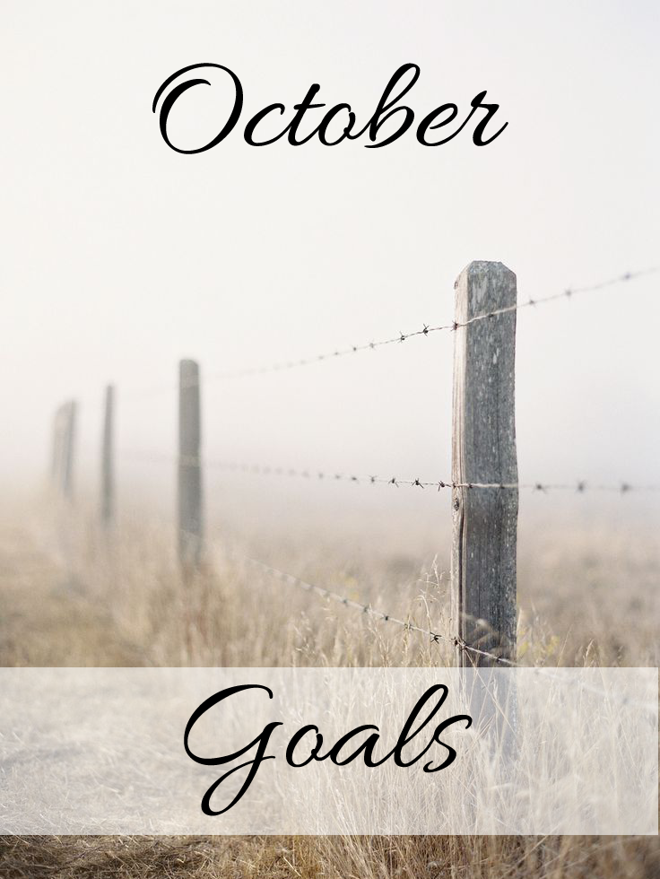 October Goals | The Kardia Blog