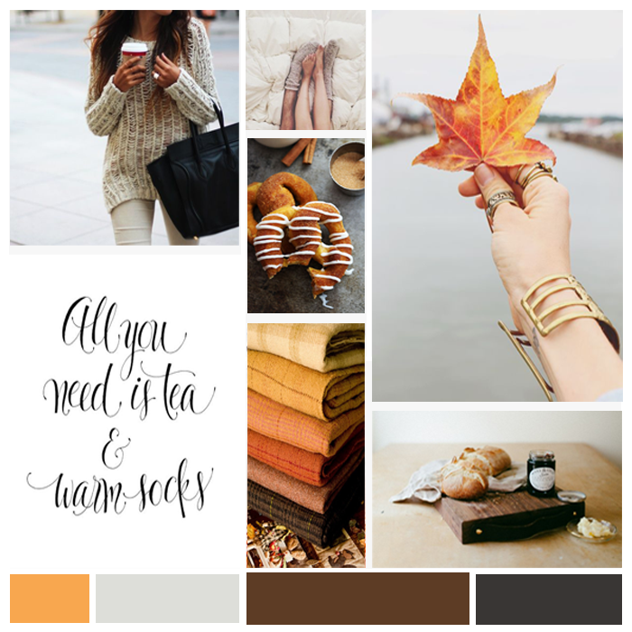 October Moodboard | The Kardia Blog