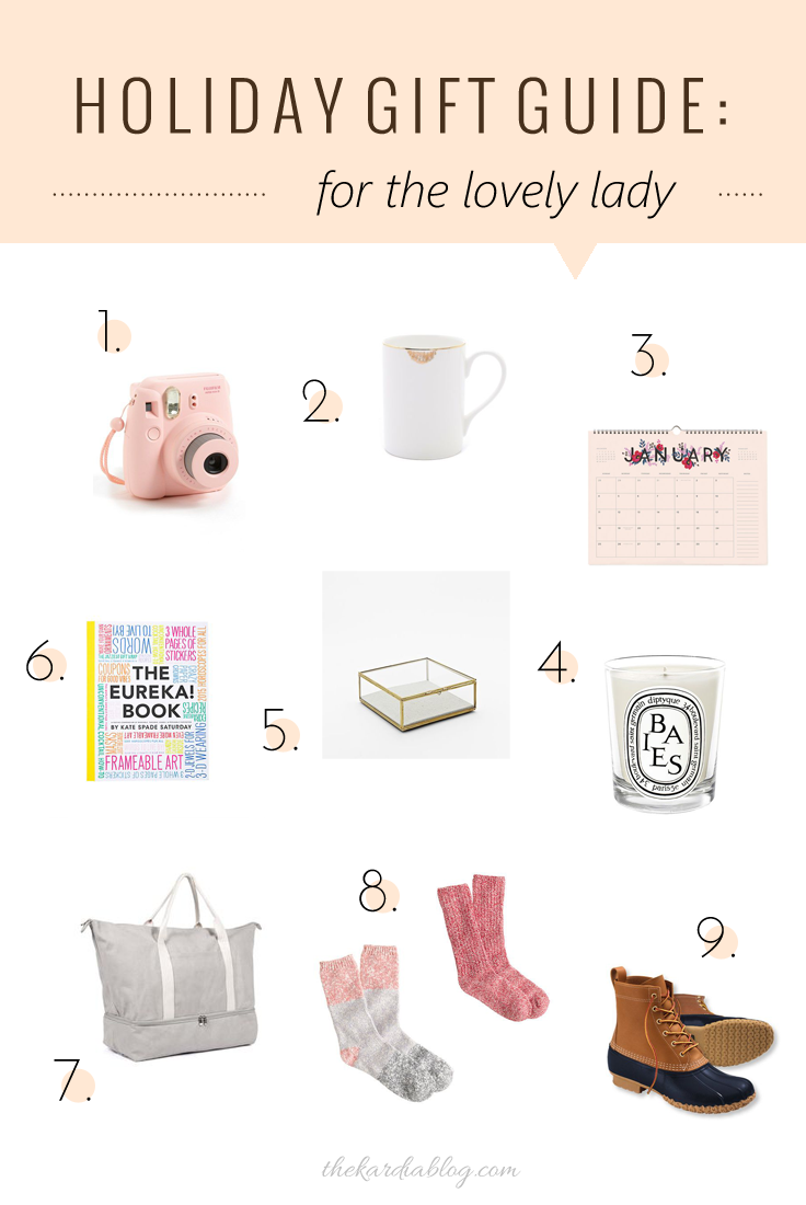 2014 Holiday Gift Guide for Her | The Kardia Blog