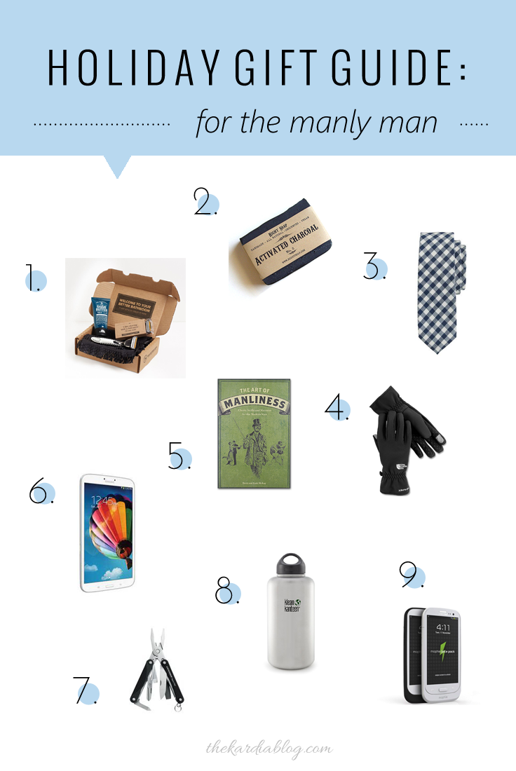Perfect gift ideas for him! The man in your life will surely love these gifts! | The Kardia Blog